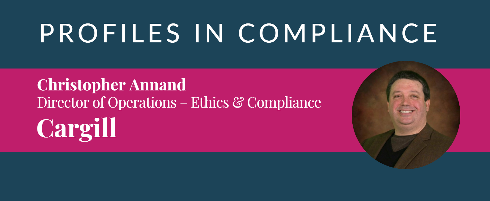 PROFILES IN COMPLIANCE