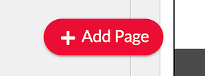 Poet Add Page Button