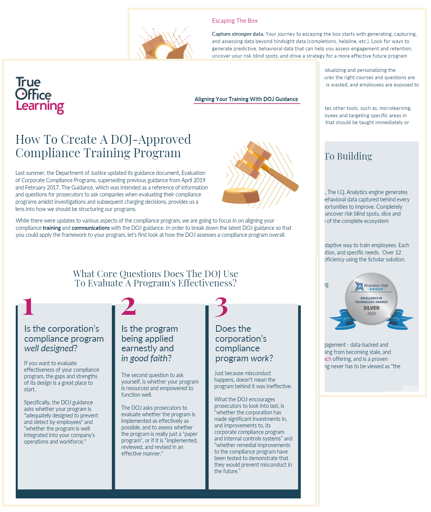 preview-1-What The DOJ Wants From Your Compliance Training Program